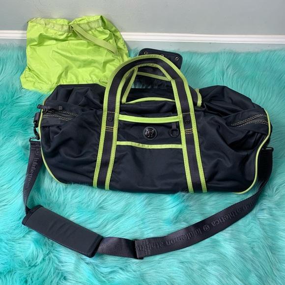 bf42d395dd6c lululemon athletica Handbags - Lululemon athletica duffel gym bag with long  strap